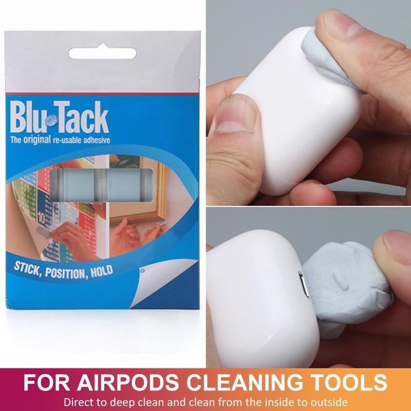 Hướng dẫn sử dụng bộ vệ sinh Airpods Bluetack