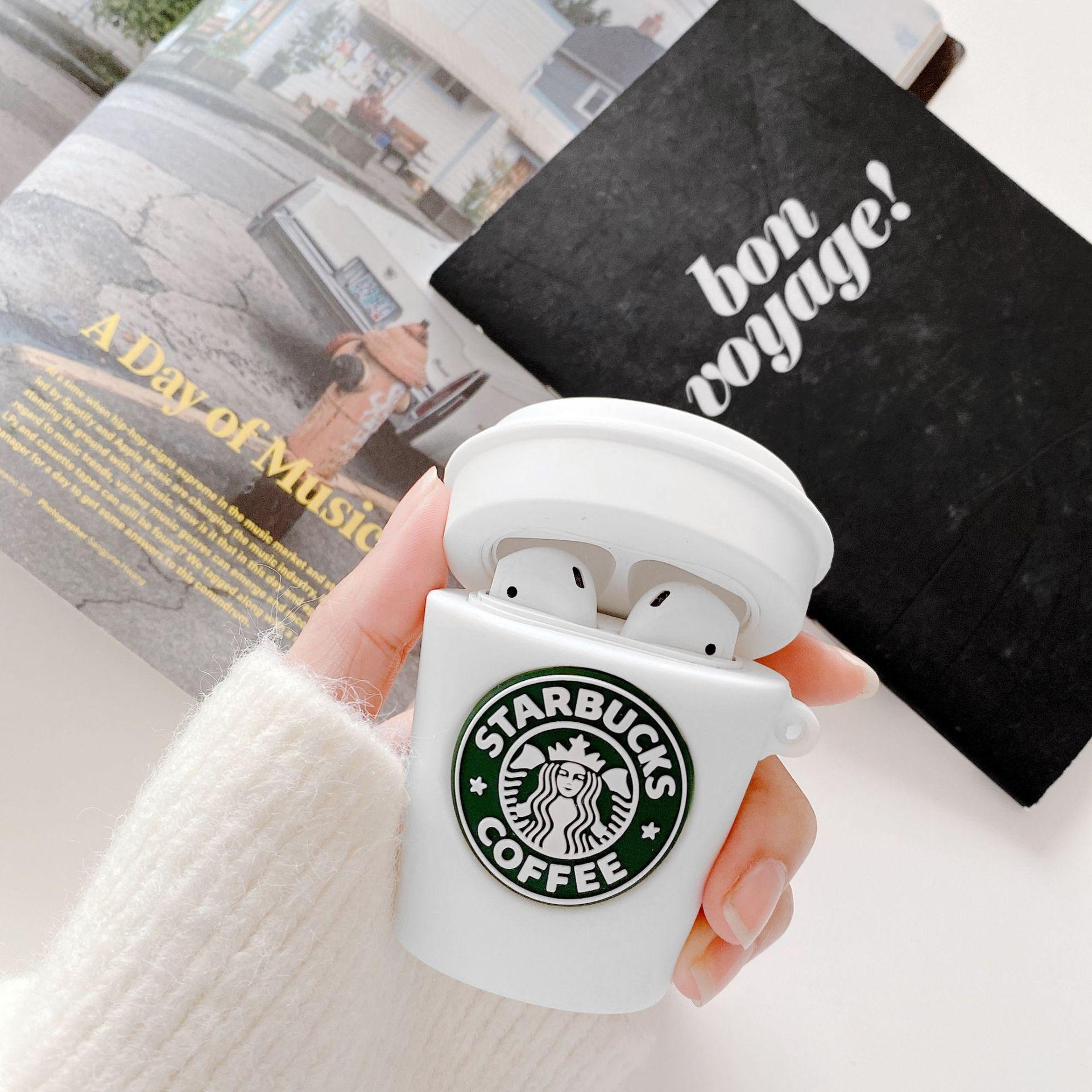 Case Airpods - Ốp Airpods 1/2/3 ( Pro ) - Cốc Starbucks