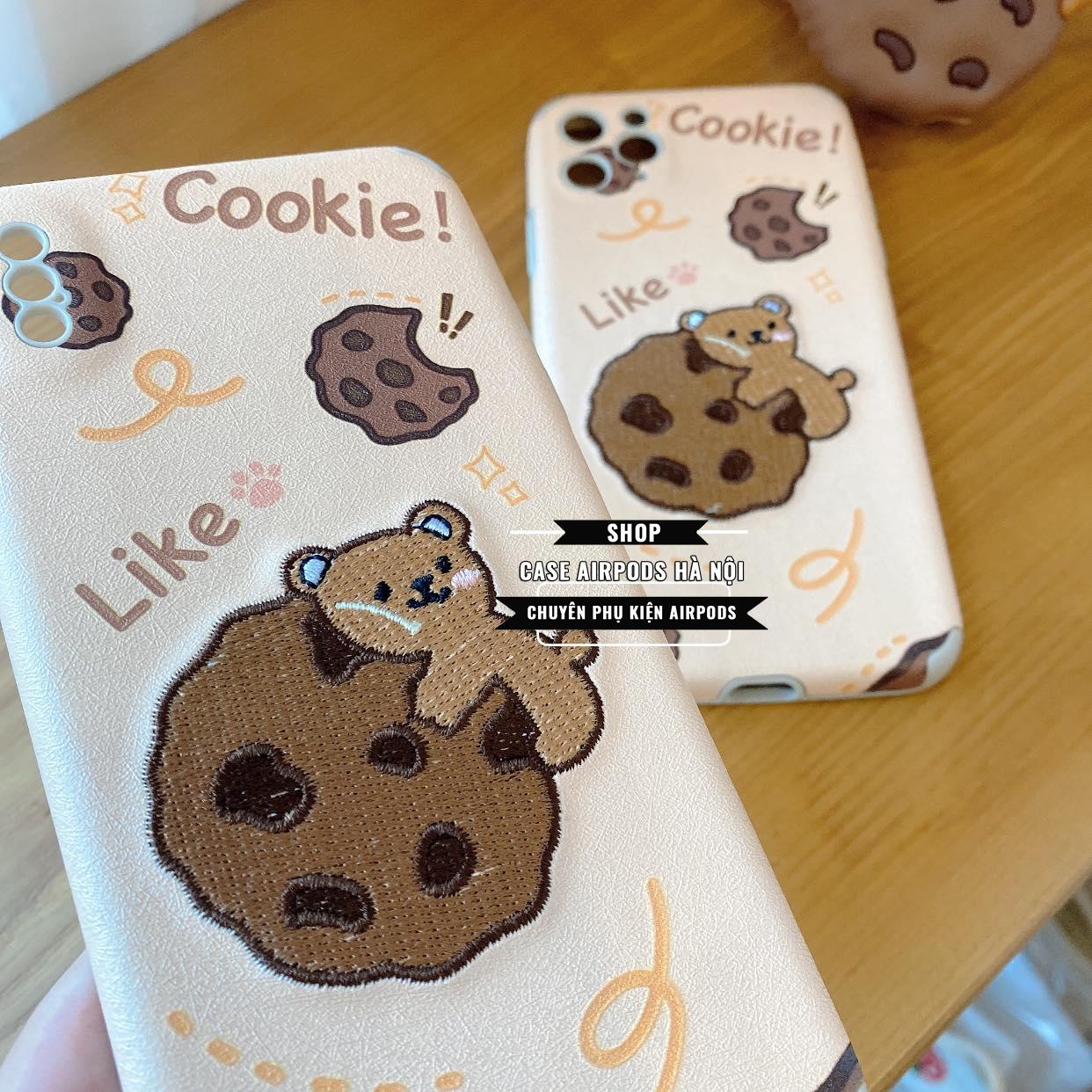 Ốp IPhone Cookie Thêu