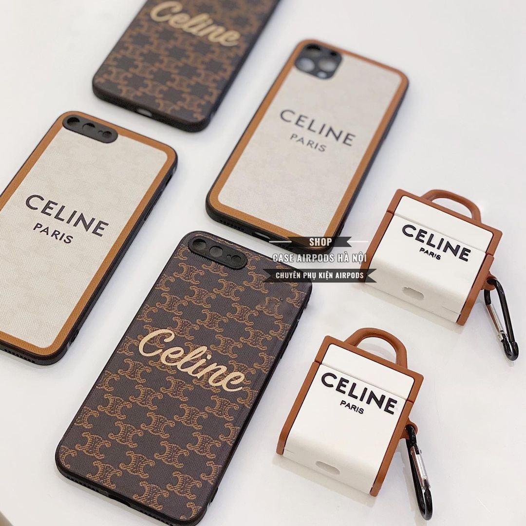 Combo ốp lưng iPhone Case Airpods Celine